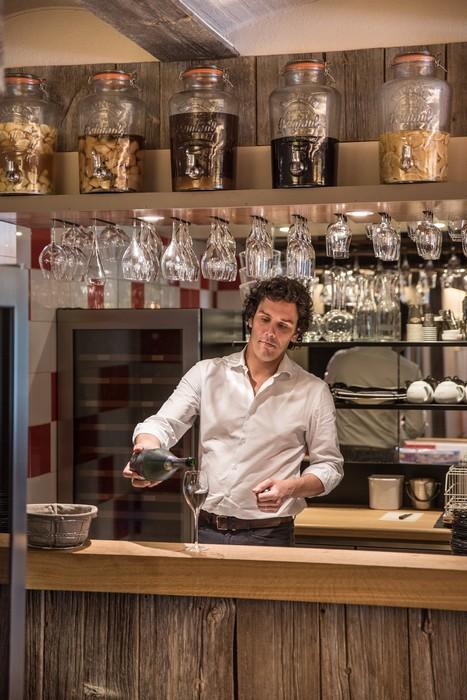 Le bar du Comptoir Gali, restaurant à Pornic