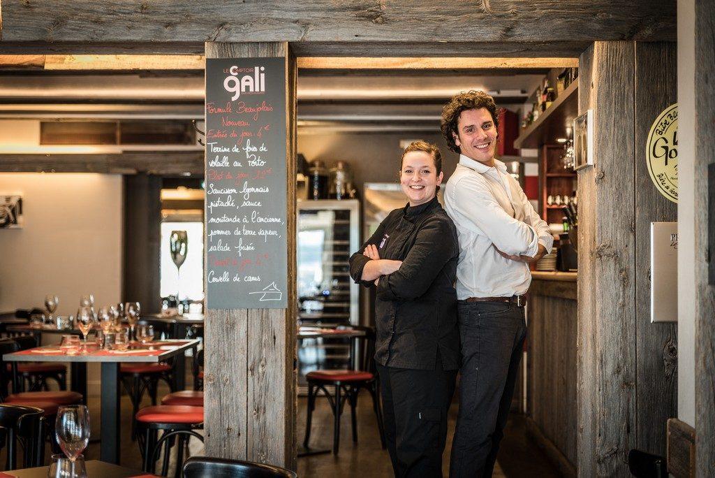 L'équipe du Comptoir Gali, restaurant à Pornic