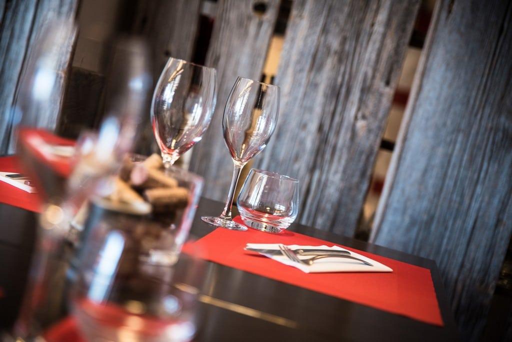 La cave à vins du Comptoir Gali, restaurant à Pornic